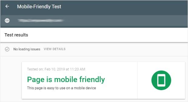 Google инструмент за тестване на мобилни устойства