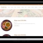 Изработка на сайт за ресторант - блог
